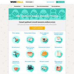 Биржа услуг WorkWilla.by
